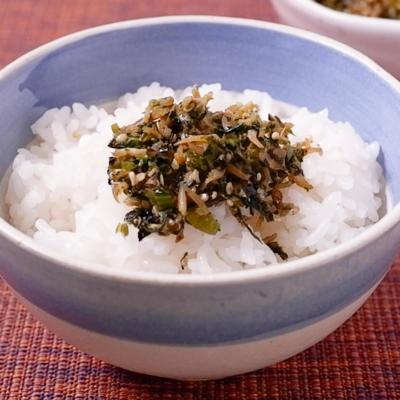 簡単しらすと小松菜のふりかけ