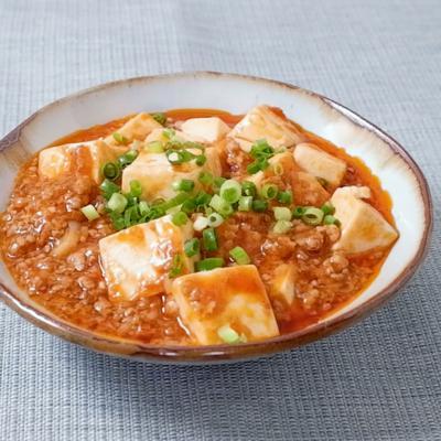 子供も大好きケチャップ入り麻婆豆腐