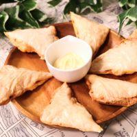 チーズのパリパリ焼き