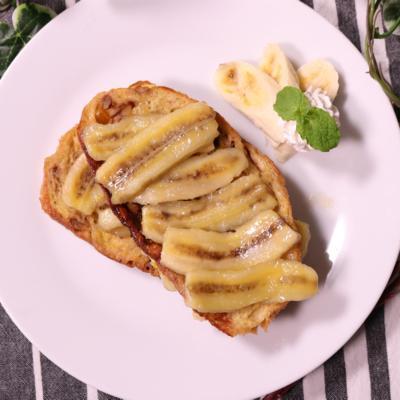 バナナのフレンチトースト