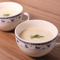すりおろしじゃがいものミルクコンソメスープ