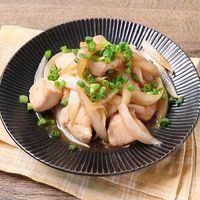 鶏むね肉のさっぱりポン酢炒め