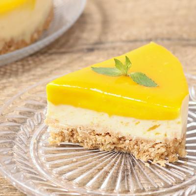 濃厚 マンゴーのレアチーズケーキ