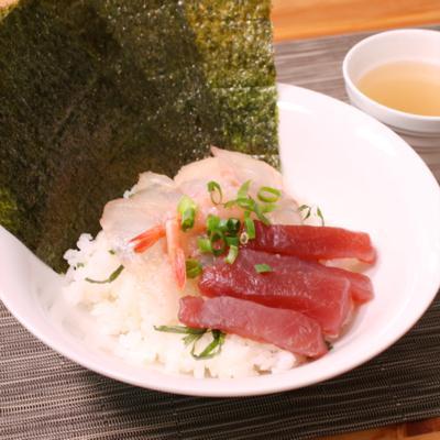 1つで3つおいしい!みそヅケ海鮮丼