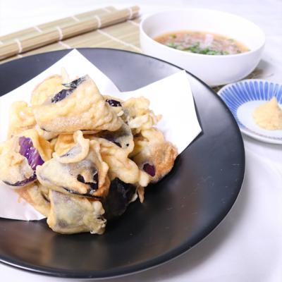 サクッと美味しい!なすの天ぷら