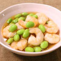 小エビと枝豆のトロトロ煮