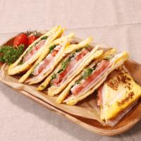 甘じょっぱさが決め手!フレンチトーストでサンドイッチ