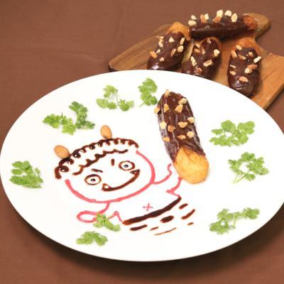 鬼に金棒!チョコドーナッツ