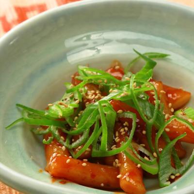 もちもちピリ辛韓国定番料理 トッポギ