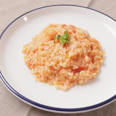 米から炊く簡単トマトリゾット