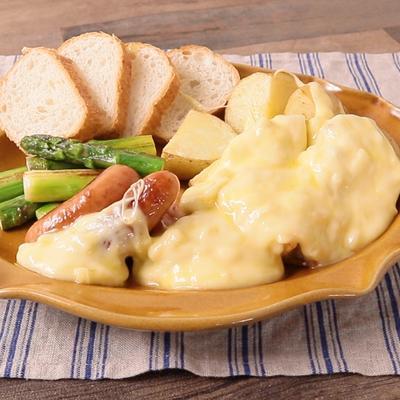 とろーりラクレットチーズとグリル野菜