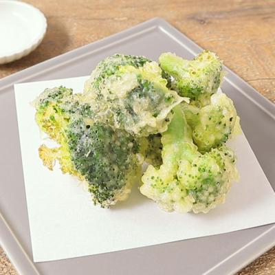 天ぷら粉で簡単 ブロッコリー天ぷら