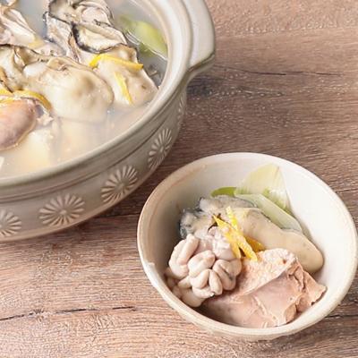 魚介の旨味たっぷり背徳鍋