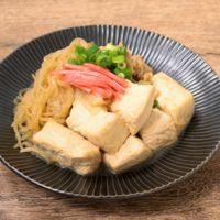 しらたきたっぷり 簡単豚バラ肉豆腐
