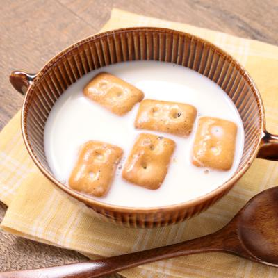 柔らかくして食べやすい ミルク乾パン
