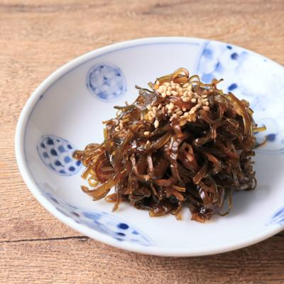 生姜香る 茎わかめの佃煮