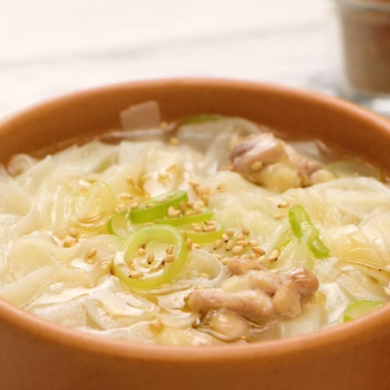 餃子の皮で簡単おやつヌードル レシピ・作り方