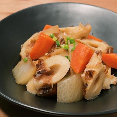 簡単副菜 大根とちくわの煮物