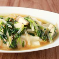 簡単湯豆腐の中華風あんかけ