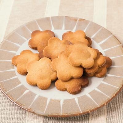米粉ときな粉で優しい甘さのクッキー
