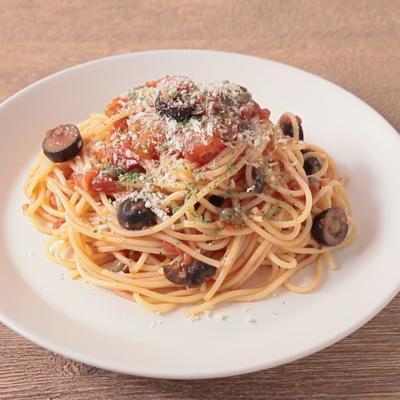 プッタネスカスパゲティ