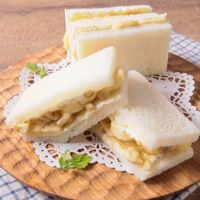 バナナとクリームチーズのメープルサンド