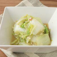 おつまみに最適 アンチョビ白菜