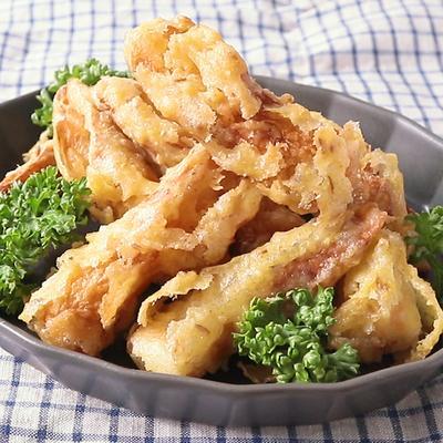 クミン香る ちくわのカレー天ぷら