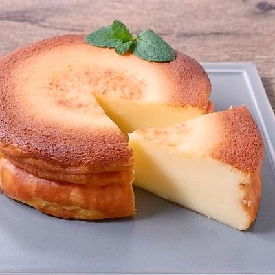 混ぜて焼くだけで簡単 米粉のチーズケーキ