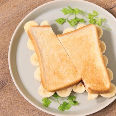 バナナのフリルサンドイッチ