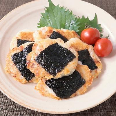 お餅と山芋の海苔チーズ焼き