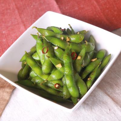 台湾風枝豆 黒胡椒炒毛豆