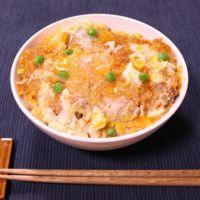お惣菜トンカツでパパッと簡単!カツ丼