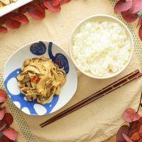 レンジで簡単 きのこの中華風和え物