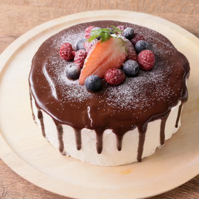 キャンドル風クリスマスケーキ
