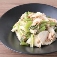 レンジで簡単副菜 かぶとツナの和え物