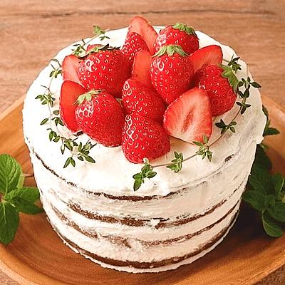 ココアネイキッドケーキ