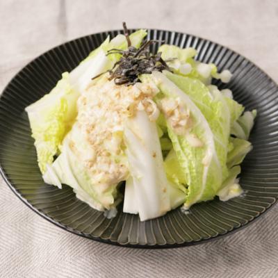 節約 和風ごまだれの白菜サラダ