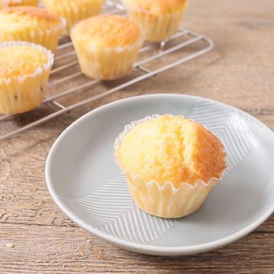 マロングラッセ入りのカップケーキ