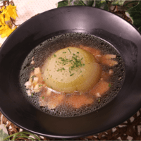 丸々タマネギスープ