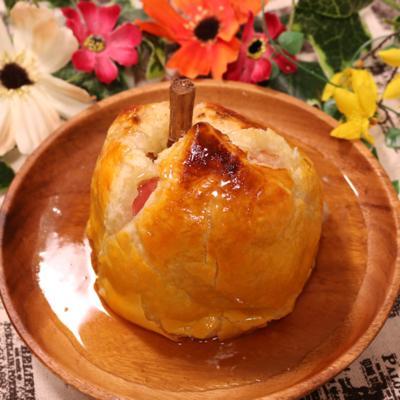 りんごのまるごとパイ