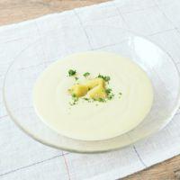 冷製スイートポテトスープ