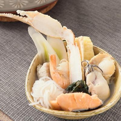 旨味あふれる 海鮮たっぷり塩ちゃんこ鍋