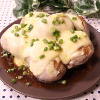 とろーりチーズたっぷり!豆腐の大葉肉巻き