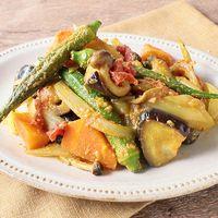 たっぷり野菜のカレー煮込み