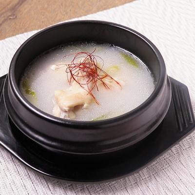 切り餅で とろとろサムゲタン風スープ