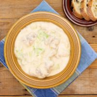 フライパンひとつで簡単 鶏肉と白菜のチーズクリーム煮込み