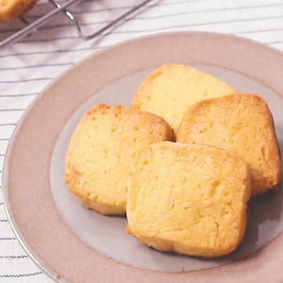 ココナッツたっぷり ココナッツアイスボックスクッキー