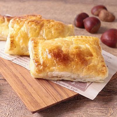 焼き栗とクリームチーズのパイ