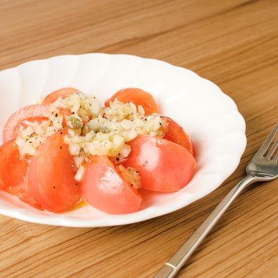 前菜に トマトのカルパッチョ